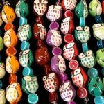 Owl beads