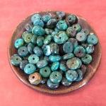 Turquoise Rondelles